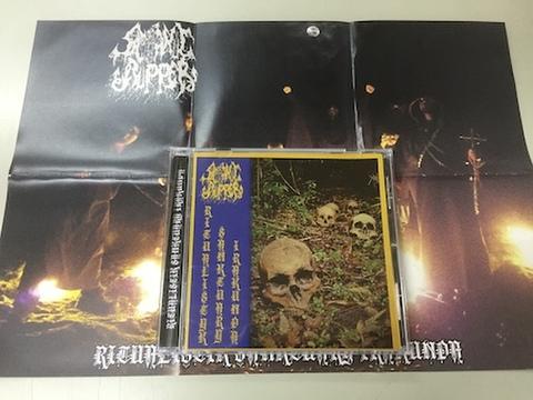 Satanic Ripper - Ritualistik Sanktuary Irakunda MCD