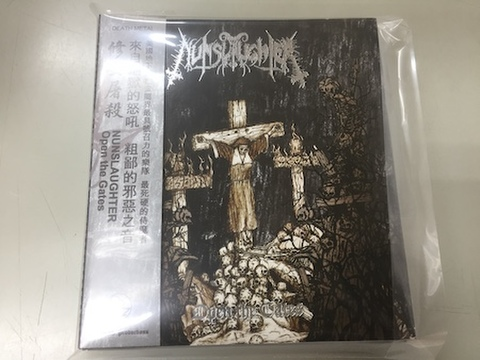 Nunslaughter - Open The Gates 3枚組CD