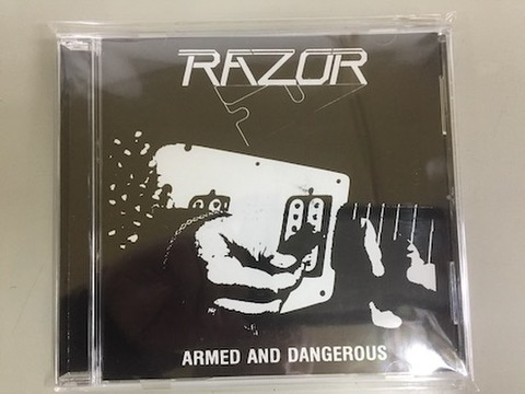 Razor - Armed and Dangerous CD (Razor Edge Records)