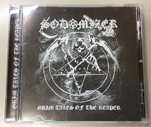 Sodomizer - Grim Tales of the Reaper CD