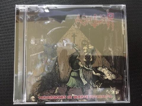 Abatuar - Perversiones De Muerte Putrefacta Panama CD
