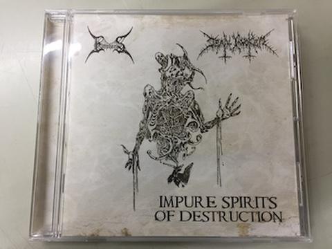Empheris / Death Invoker - Impure Spirits Of Destruction MCD