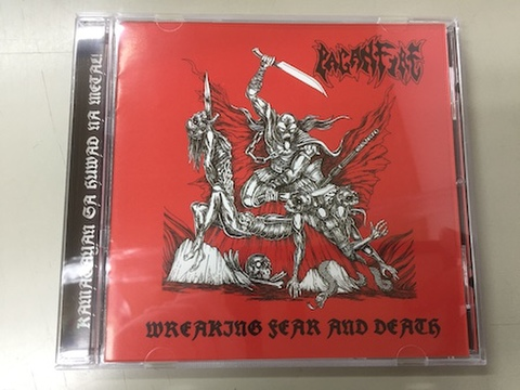 Paganfire - Wreaking Fear and Death CD