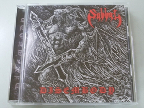 Sabbat - Disembody CD (Fallen-Angels Productions)