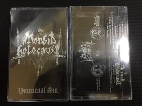 Morbid Holocaust - Nocturnal Sin テープ
