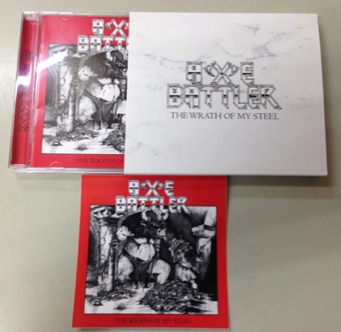 Axe Battler - The Wrath of my Steel CD