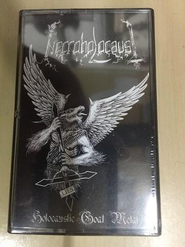 Necroholocaust - Holocaustic Goat Metal テープ