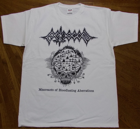 PATHOGEN - Miscreants of Bloodlusting Aberrations Tシャツ(サイズ M)