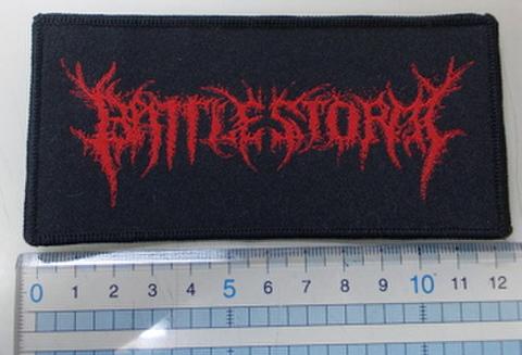 Battlestorm ロゴ刺繍パッチ
