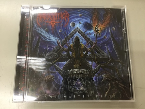 Absentation - Antimatter Rites CD