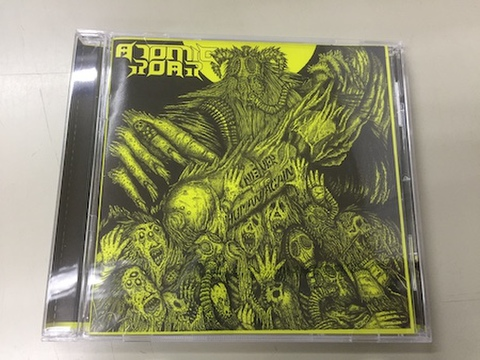 Atomic Roar - Never Human Again CD