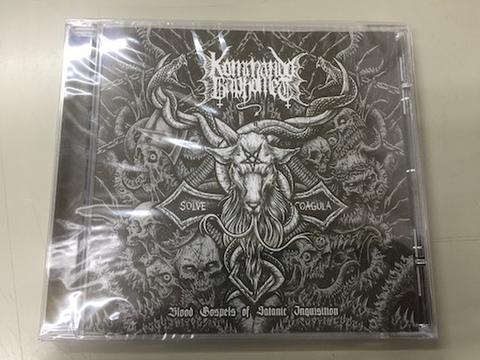 Kommando Baphomet - Blood Gospels of Satanic Inquisition CD