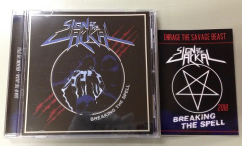 Sign of the Jackal - Breaking the Spell CD