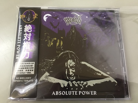 Wraith - Absolute Power CD