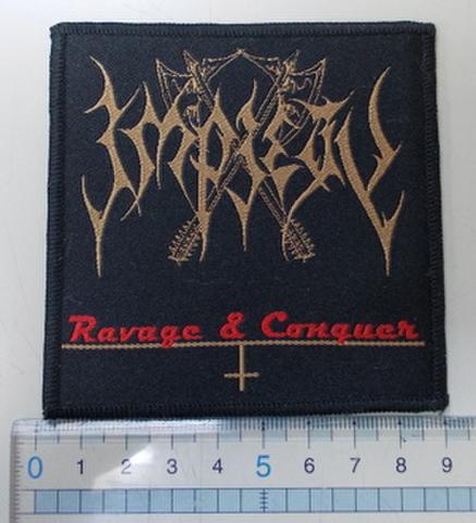 Impiety - Ravage & Conquer 刺繍パッチ