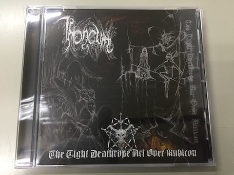 Throneum - The Tight Deathrope Act Over Rubicon CD (Old Temple)
