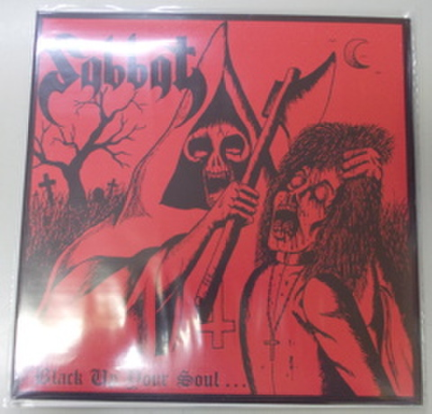 Sabbat - Black Up Your Soul LP