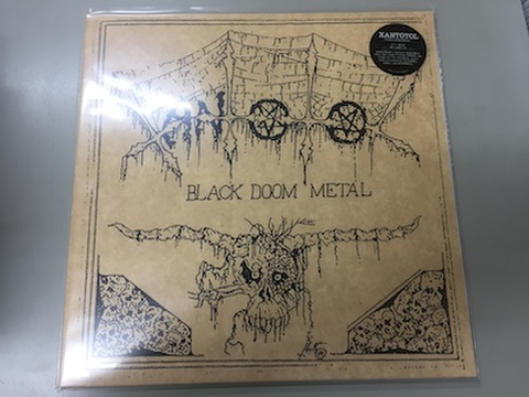 Xantotol - Black Doom Metal LP