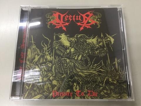 Decius - Prepare to Die CD