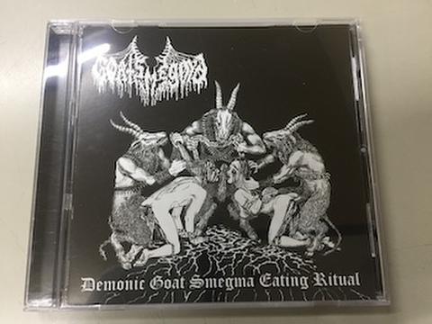Goatsmegma - Demonic Goat Smegma Eating Ritual CD