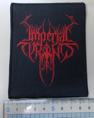 Imperial Tyrants ロゴ刺繍パッチ