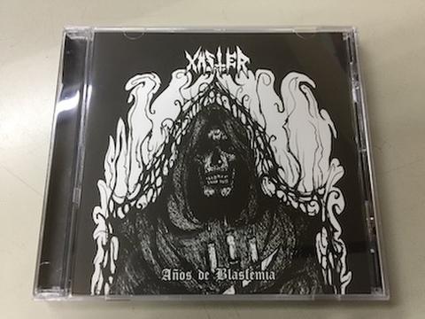 Xaster - Anios de Blasfemia CD