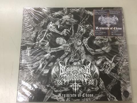 Blasphemous Division - Regiments of Chaos デジパックCD