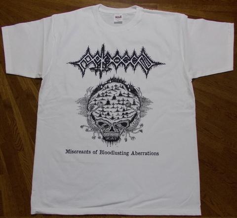 PATHOGEN - Miscreants of Bloodlusting Aberrations Tシャツ(サイズ S)