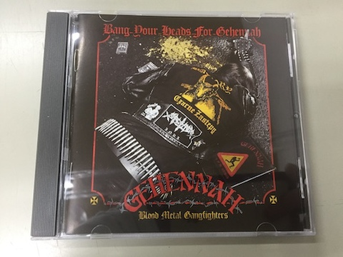 V.A. - Gehennah tribute Bang Your Head for Gehennah CD