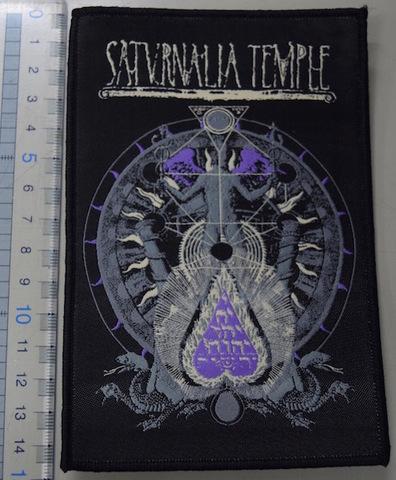 Saturnalia Temple - パッチ(黒)