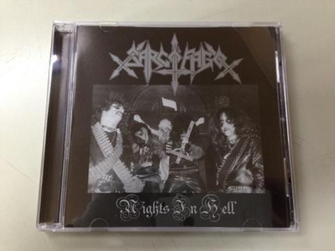Sarcofago - Nights In Hell CD