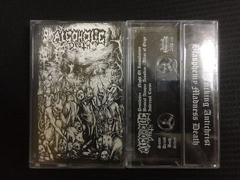 Alcoholic Death - The Night of Immolation テープ