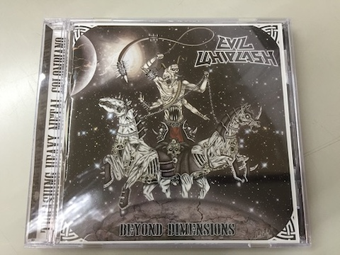 Evil Whiplash - Beyond Dimensions CD
