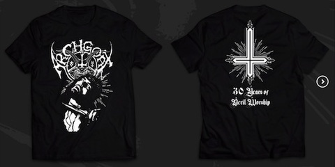 Archgoat -  30 Years Of Devil Worship Tシャツ (Size : M)