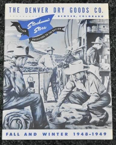 1948 Denver Dry Goods Catalog【ヴィンテージ カタログ】