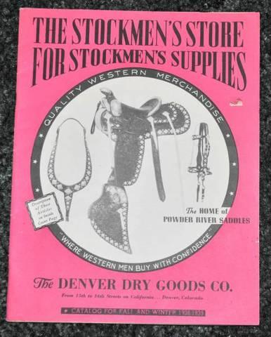 1938-1939 Denver Dry Goods Catalog【ヴィンテージ カタログ】