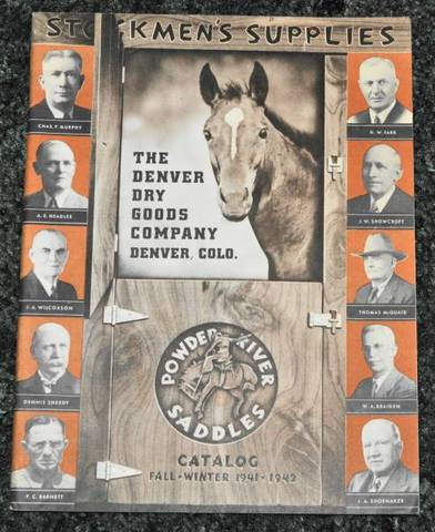 1941-1942 Denver Dry Goods Catalog【ヴィンテージ カタログ】