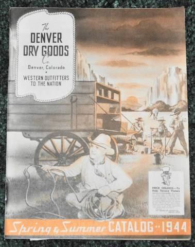 1944 Denver Dry Goods Catalog【ヴィンテージ カタログ】