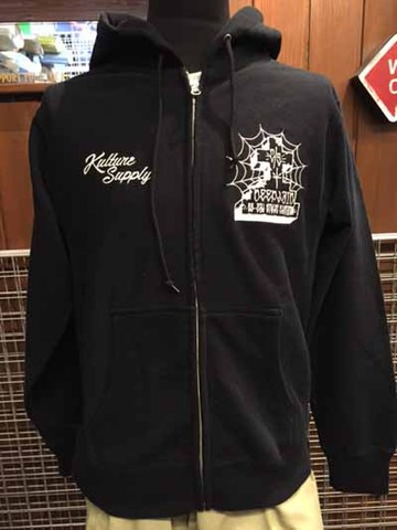 DEEPLAID CLOTHING PACHUCO CROSS ZIP HOOD ディープレイド/8,800円
