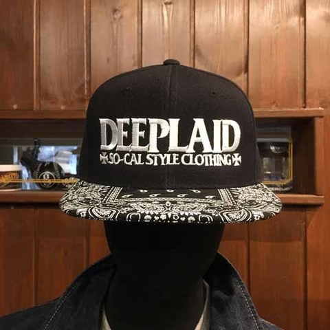 DEEPLAID CLOTHING RODDER BANDANA CAP ディープレイド/4,500円
