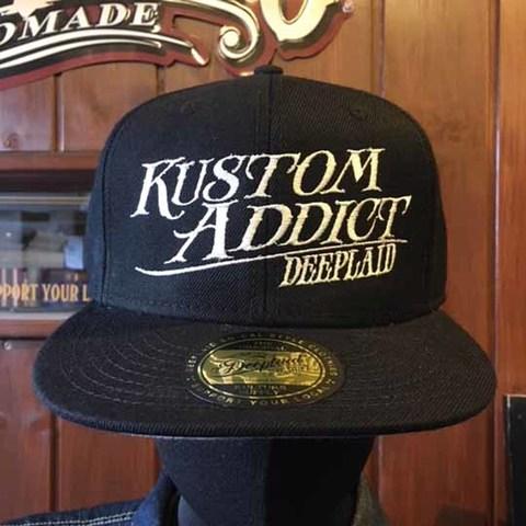 DEEPLAID CLOTHING KUSTOM ADDICT CAP ディープレイド/4,000円
