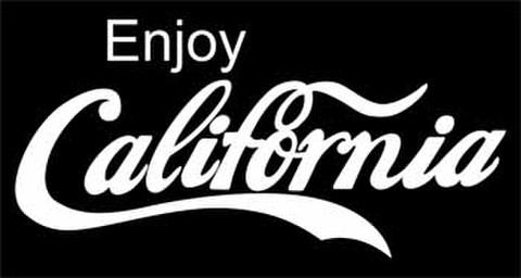 CALIFORNIAカッティングステッカー ホワイト・ブラック・ブルー・レッド