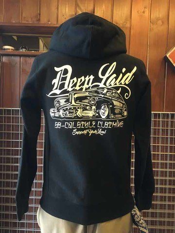 DEEPLAID CLOTHING OLD MEMORIES ZIP HOOD ディープレイド/8,800円