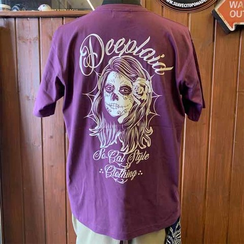 DEEPLAID CLOTHING DAY OF THE DEAD TEE ディープレイド/3,800円
