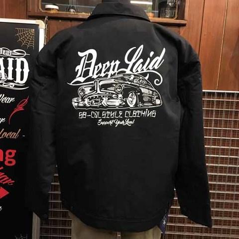 DEEPLAID CLOTHING OLD MEMORIES WORK JACKET ディープレイド/12,000円