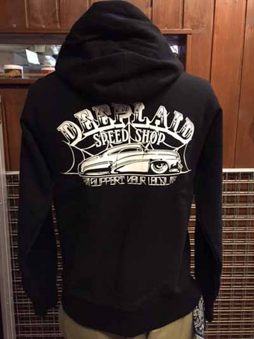 DEEPLAID CLOTHING SPEED SHOP ZIP HOOD ディープレイド/8,800円