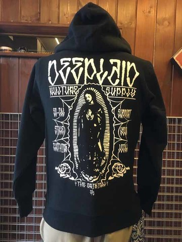 DEEPLAID CLOTHING MARIA ZIP HOOD ディープレイド/8,800円