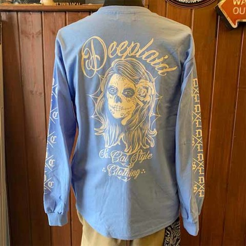 DEEPLAID CLOTHING DAY OF THE DEAD LONG SLEEVE TEE ディープレイド/5,800円