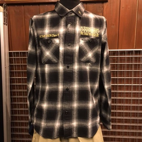 DEEPLAID CLOTHING BARRIO L/S OMBRE CHECK SHIRTS /8,800円