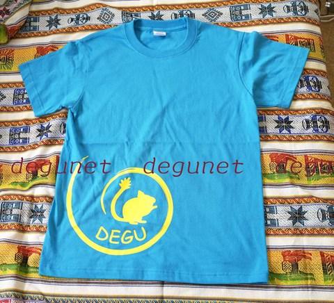 Tシャツ・ターコイズブルー2016年度版